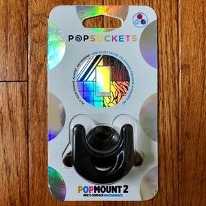 PopSocket PopMount 2 Multi-Surface Black Phone